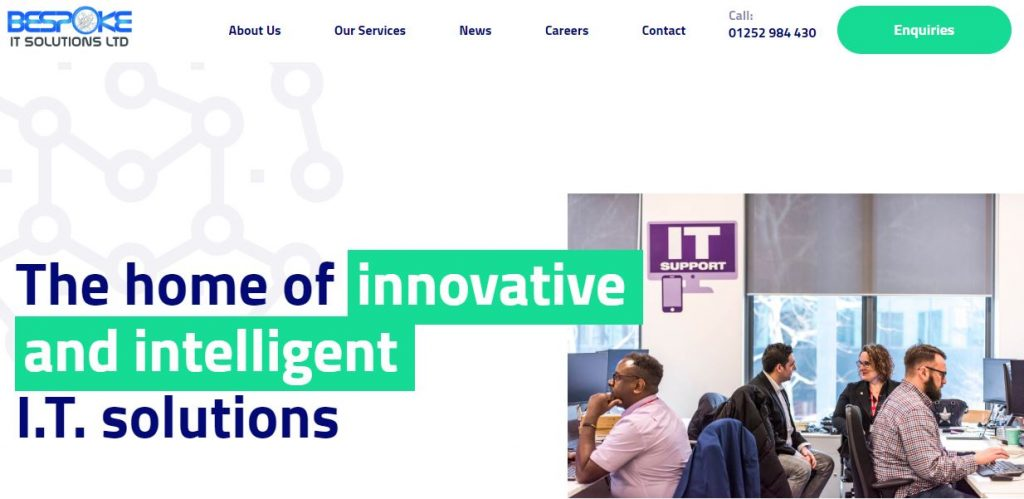 BITS website home page